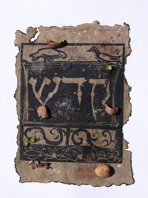 Tamar Sorkin Artwork Haggada woodcut 3, 2008 Mixed Media, Judaic