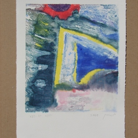 Abstract Monoprint 2009, Tamara Sorkin