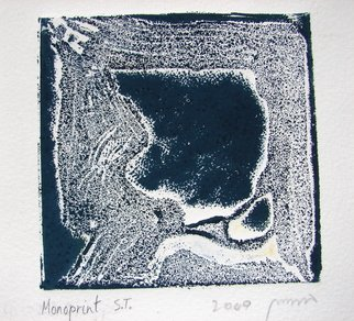 Tamara Sorkin: 'monoprint no title', 2010 Monoprint, Abstract.