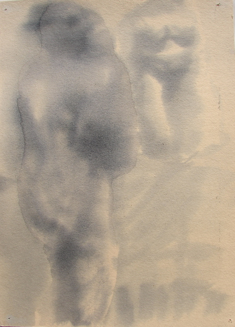Tamara Sorkin  'Nude And Mirror 1', created in 2008, Original Drawing Other.