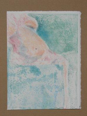 Tamar Sorkin Artwork pastel monoprint, 2009 Monoprint, Abstract Figurative