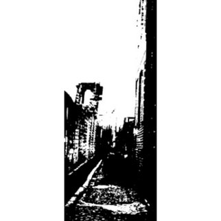 Bengt Stenstrom: 'dead end street', 2004 Black and White Photograph, . Photo. Price is just an example. ...