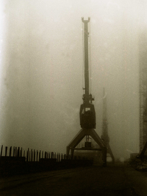 Bengt Stenstrom  'Fog Harbour 2', created in 2010, Original Photography Other.
