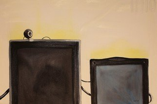 Artist: Vasil Vasilev - Title: WIS3 - Medium: Oil Painting - Year: 2014