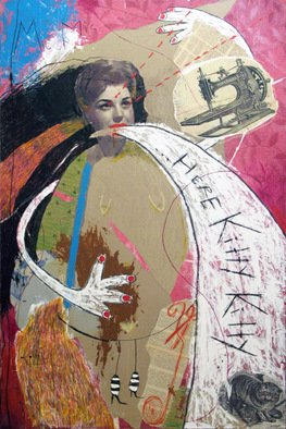 Ivana Juric Artwork Here Kitty Kitty, 2011 Collage, undecided