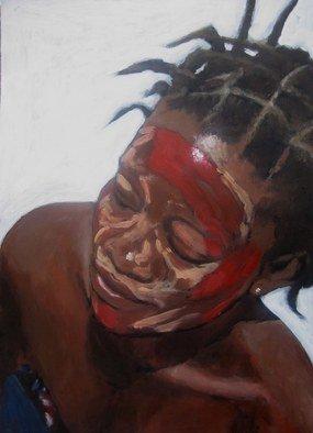 Josep Manel Marti Gomez Artwork Africa, 2010 Acrylic Painting, Figurative