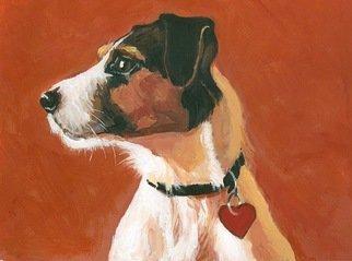 Josep Manel Marti Gomez Artwork Dog, 2010 Acrylic Painting, Figurative