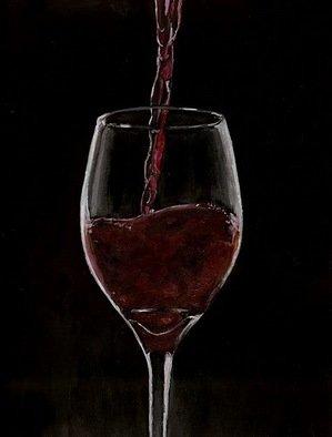 Josep Manel Marti Gomez Artwork Wine, 2010 Acrylic Painting, Figurative