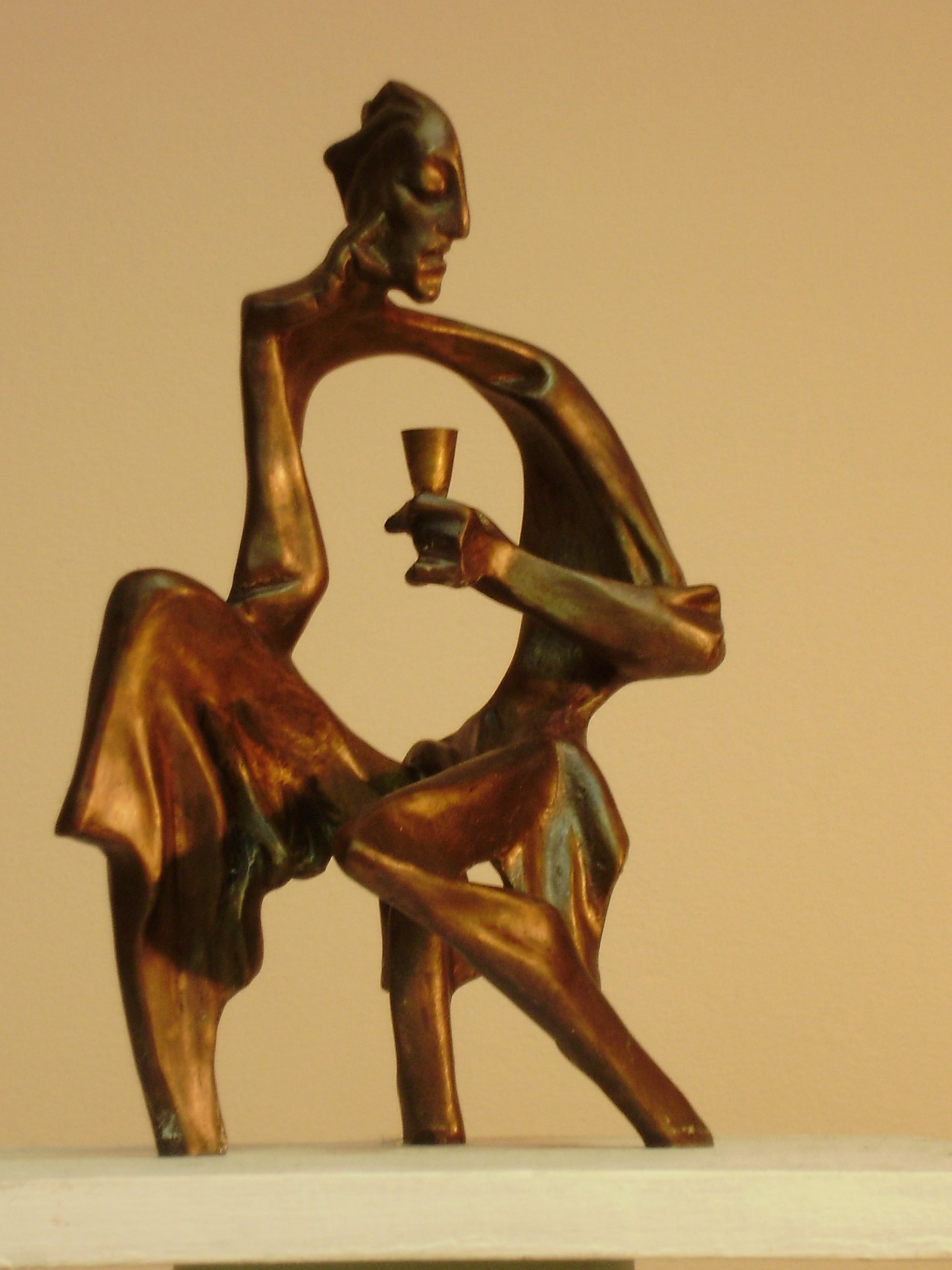 Alexander Iv Ivanov Artwork absinthe, 2014 Bronze Sculpture, Philosophy