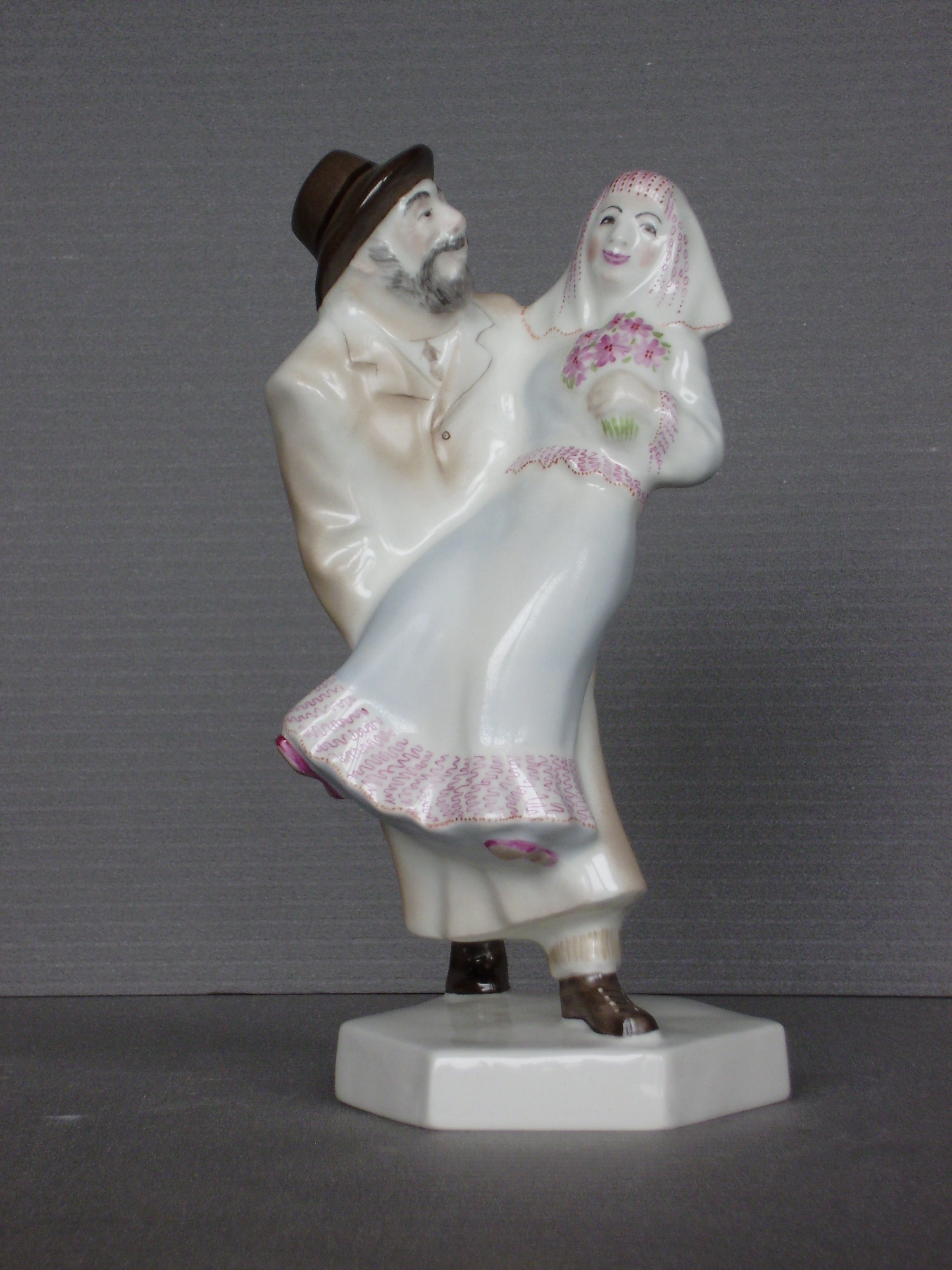 Alexander Iv Ivanov Artwork jewish wedding, 2017 Ceramic Sculpture, Judaic