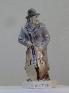 Alexander Iv Ivanov Artwork musician, 2017 Ceramic Sculpture, Judaic