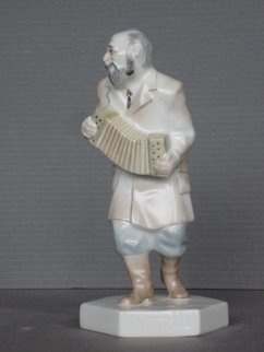 Alexander Iv Ivanov Artwork musician 03, 2017 Ceramic Sculpture, Judaic