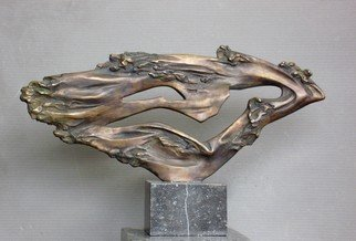Alexander Iv Ivanov: 'swimmer', 2013 Bronze Sculpture, Abstract Figurative. Artist Description: bronze, sculpture, creativity, art, sport, swimming...