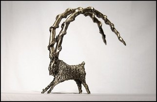 Ivica Vukadin: 'RAM', 1995 Other Sculpture, Animals. Artist Description:  IRON/ THERMAL METALWORKING SCULPTURE ...