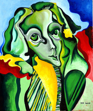 - artwork LADY_IN_GREEN,_ORIGINAL_OIL_PAINTING_ON_CANVAS-1303571321.jpg - 2010, Painting Oil, Figurative