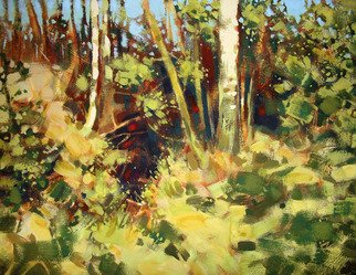 Landscape Acrylic Painting by Igor Zakowski Title: painting 0005, created in 2008