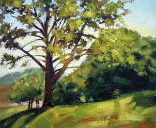 Landscape Acrylic Painting by Igor Zakowski Title: painting 0007, created in 2008