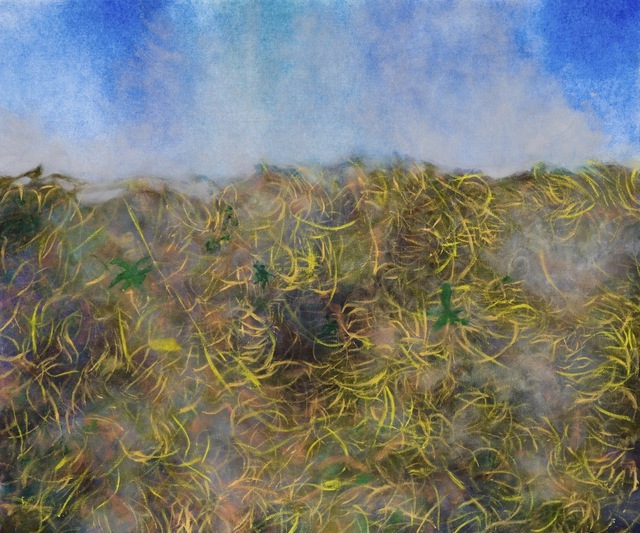 Jason Rocca  'Grass', created in 2009, Original Painting Oil.