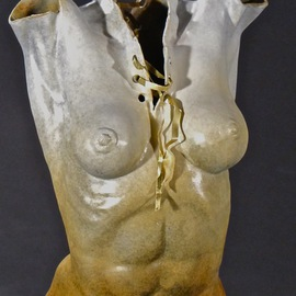 Jack Hill Artwork female torso, 2012 Bronze Sculpture, Figurative