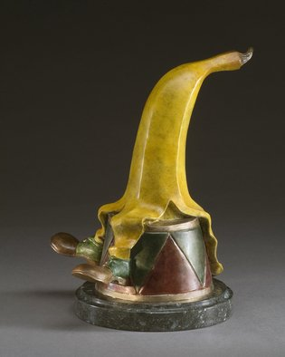 Jack Hill: 'secondbanana', 2007 Bronze Sculpture, Fantasy.