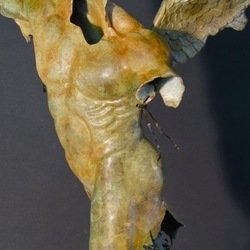 , Male Torso Winged Front V, Mythology, $3,990