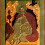 Prophet Elijah Fed By Birds, Nancy B Jackson