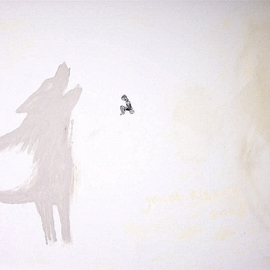 Jacob Kleyn Artwork Howling, 2008 Other Drawing, Conceptual