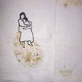 Jacob Kleyn Artwork sitting on the garbage, 2007 Other Drawing, Conceptual