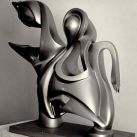 Jacques Malo: 'Ingenue', 1984 Other Sculpture, Abstract. Artist Description: Private collection...