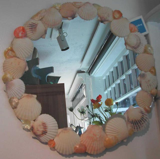 Susan Whelihan  'Nantucket Shell Mirror', created in 2004, Original Crafts.