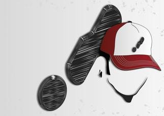 Graphic Design by Diogo Filipe titled: trucker cap, 2012