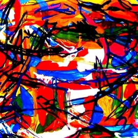 Peter Jalesh: 'abstrtact landscape xx', 2008 Acrylic Painting, Activism. Artist Description: Abstract Landscape...