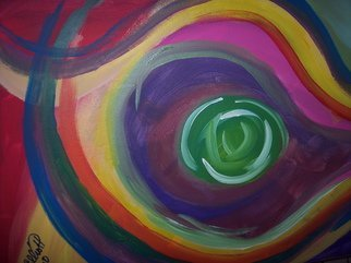 James Elliott Artwork Big eyeball on you, 2010 Acrylic Painting, undecided