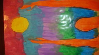 Acrylic Painting by James Elliott titled: Man Reaching, 2013