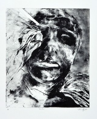 James  Mayor: 'sacrifice', 2016 Monoprint, War. Artist Description: Framed...