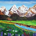 Alpine Meadow By James Parker