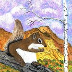 Colored Squirrel, James Parker