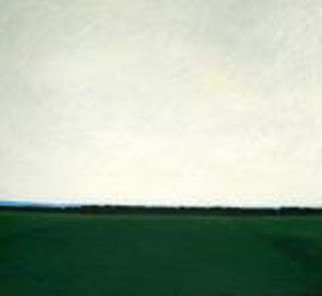 Jane Mcnichol Artwork The End of the Day, 2008 Oil Painting, Landscape