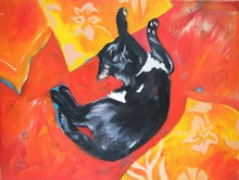 - artwork Lazarus_Cat_I-1296451000.jpg - 2010, Painting Oil, undecided