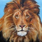 Portrait Of A Lion, Janet Page