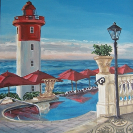 The Lighthouse View from the Oyster Box By Janet Page