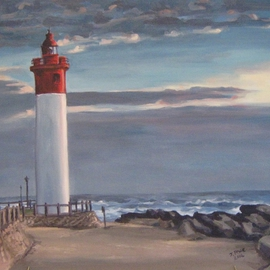 Umhlanga Lighthouse By Janet Page