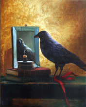 - artwork Still_Life_With_Crow-1268702908.jpg - 2009, Painting Oil, Still Life