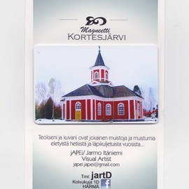 Jarmo It�niemi: 'Photo magnet', 2014 Color Photograph, Architecture. Artist Description:   Cathedral of KORTESJARVI Finland  ...