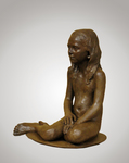 Bronze Sculpture by Bruce Naigles titled: Antonia, created in 2008