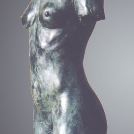 Bruce Naigles: 'Asta', 1995 Bronze Sculpture, Figurative. Artist Description:  Asta was a dancer, half Norwegian, half Ugandean. She had broad shoulders and thin hips giving her a masculine like figure, but a softness and suppleness that belongs only to the other half of our species. She was a fantastic and inspiring model whom I wish i could ...