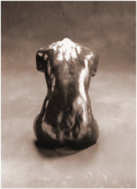 Bruce Naigles  'From The Back', created in 1994, Original Sculpture Ceramic.