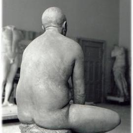Bruce Naigles: 'Nameless', 1994 Other Sculpture, Figurative. Artist Description: From the back...