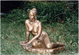 Bronze Sculpture by Bruce Naigles titled: Siven, created in 1997