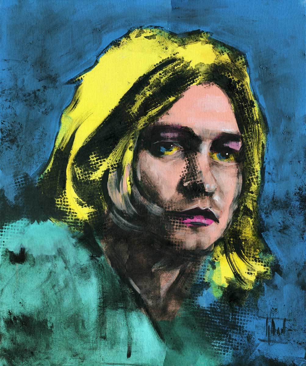 Jaroslaw Glod Artwork Kurt Cobain